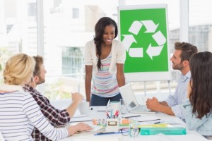 Small business recycling and green culture
